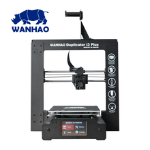NEW 2016 I3 Plus 3D printer WANHAO Fast shipment from the factory Low price invoice