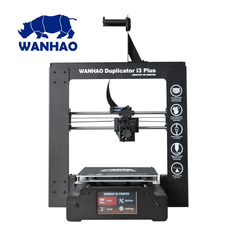 NEW 2018 I3 Plus 3D printer WANHAO. Fast shipment from the factory. Low price invoice the new skiip11nab126v1 skiip12nab126v1 12t4v1 to disassemble the invoice