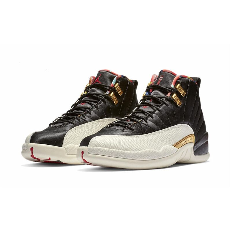 2019 Jordan 12 Xii Basketball Shoes Cny Men Black Gold Outdoor Sport Sneakers New Arrival Size Us 8-13 Plus Size Providing Amenities For The People; Making Life Easier For The Population Remote Control Toys