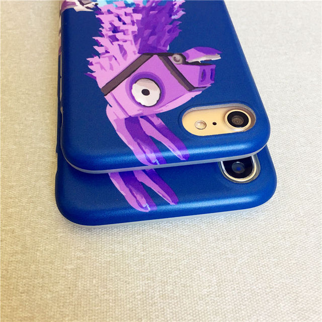 Luxury Brand Llama Fortnit Battle Royale Phone Cover For iPhone X Case Soft Matte Pinata llama Case for iPhone 7 8 6 6s 3