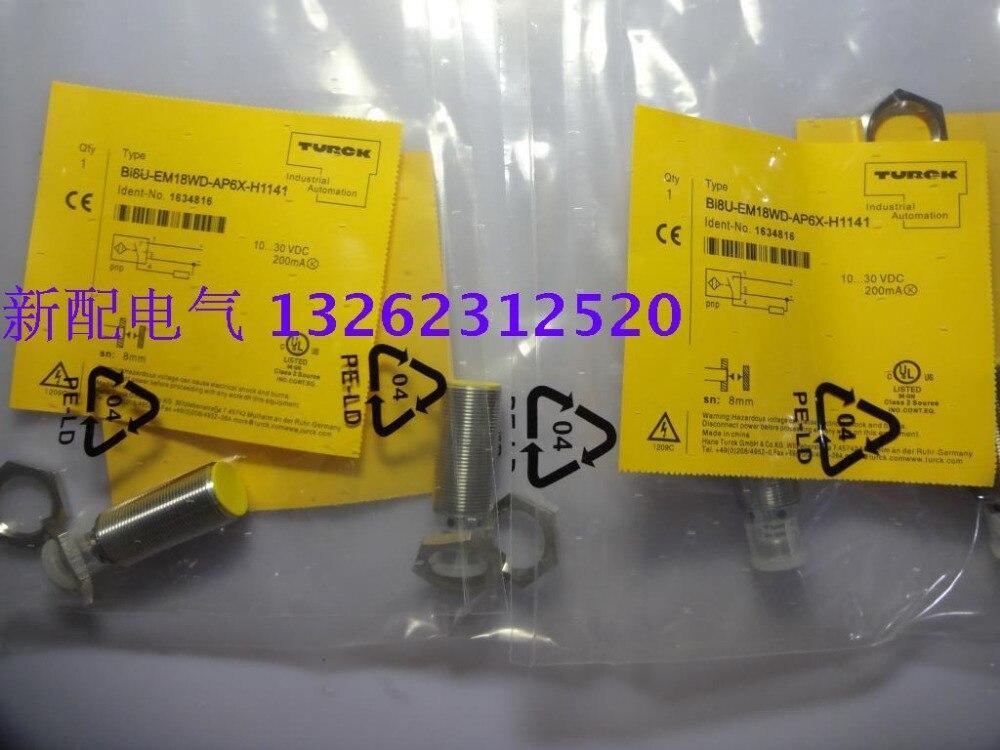 BI8U-EM18WD-AP6X-H1141 Proximity Switch Sensor New High-Quality  BI8U-EM18WD-AP6X-H1141 Proximity Switch Sensor New High-Quality