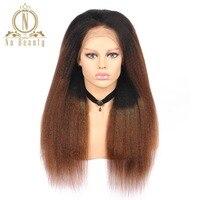 Brezilyalı Remy Saç Sapıkça Düz Dantel Ön Peruk T1B 30 100% İnsan Saç Ucuz Peruk Na Güzellik Saç Ücretsiz Nakliye
