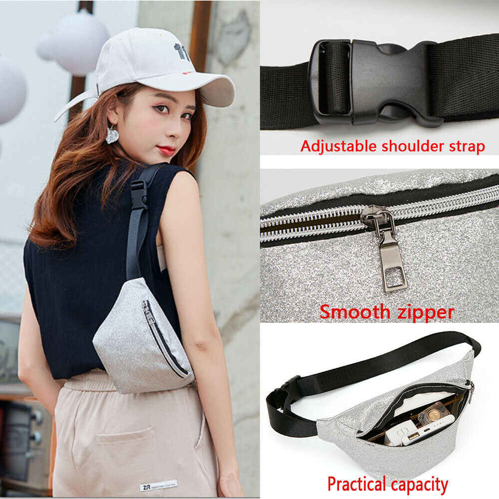2019 nuevo estilo de moda para mujer cintura de PU riñonera bolsa de cinturón bolsa de pecho bolsa de viaje cadera bolso de señora pequeño bolso