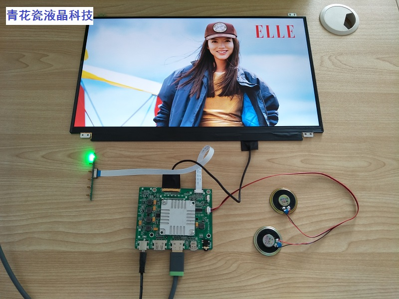 17.3 INCH 3840X2160 4K 2 HDMI Mini DP Earphone Port LCD Screen with Driver Board DIY Set Built In Speaker for Computer Laptop