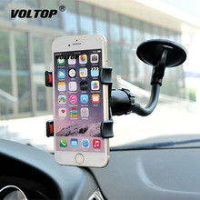Universal Car Holder Cell Phone for Iphone 7 6s Plus SE Stand Support Samsung Flexible Mobile