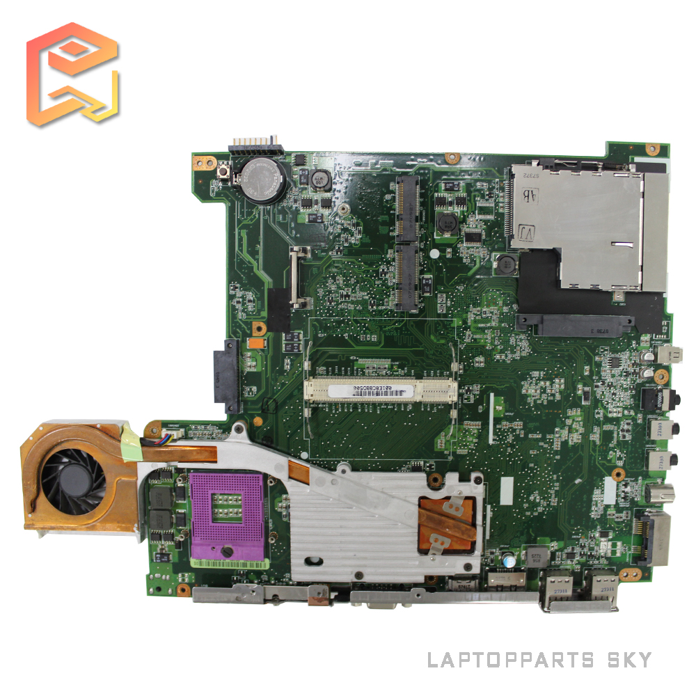 Stock laptop motherboard for asus G1S REV:2.0 08G21GS0020I with fan mainboard fully tested work well for msi ms 10371 intel laptop motherboard mainboard fully tested works well
