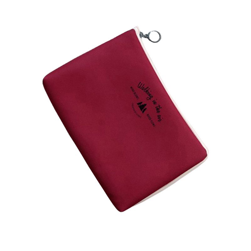 Thickening Polyester Shockproof Travel Accessories Packing Organizers Utility Fashion Cable Zipper Pouch