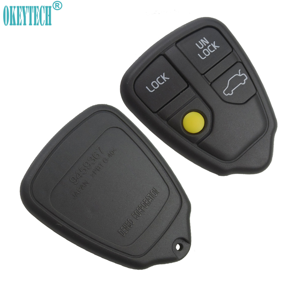 4 Buttons Remote Key Shell Case For Volvo XC70 XC90 S40 S60 S70 S80 S90 V40 V70