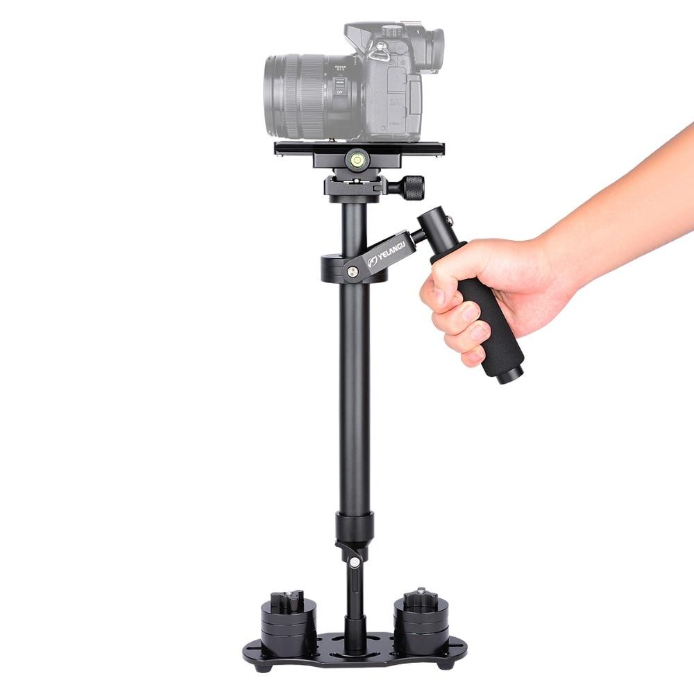 YELANGU S60N Stabilizzatore Fotocamera Manuale Steadycam Handheld Steadicam Per Il Video della Macchina Fotografica di Dslr Canon Nikon Sony Panasonic
