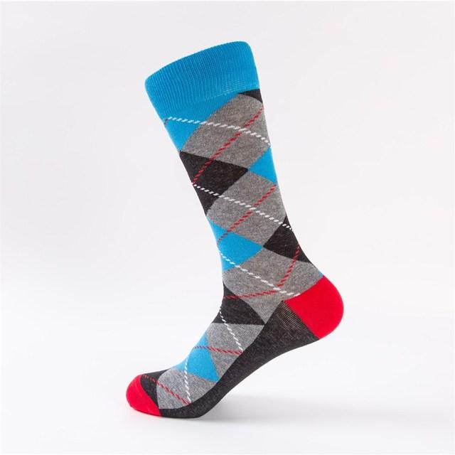 1806DGY Cotton Socks