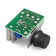 1 шт. 220 в 2000 Вт регулятор скорости SCR регулятор напряжения диммеры термостат электронный модуль регулятора напряжения