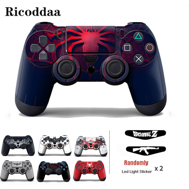 Vinyl-Skin-Sticker-For-PS4-Wireless-Controller-Gamepad-Protective-Cover-Decal