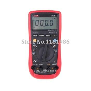 UNI-T UT109 Handheld Automotive Multiuso Metri Auto Range Multimetri USB del PC Collegare Sosta gen LCD Retroilluminato