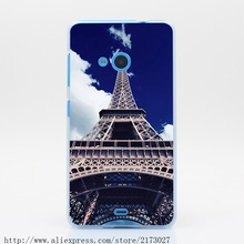 281N Eiffel Tower Bottom Hard Case for Lenovo S60 S850 S90 for Nokia 535 630 640 for Sony Z2 Z3 Z4
