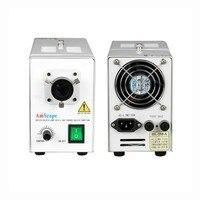 AmScope 150 Вт волоконно оптический микроскоп свет подсветки Box 220 В версия HL250 A 220V