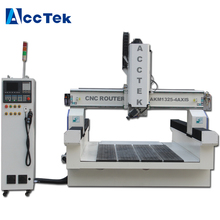 Jinan factory supplier cnc router machine 4 axis wood carving machine