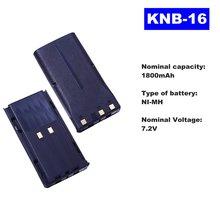 72в 1800 мАч ni mh Радио батарея knb 16 для kenwood walkie talkie