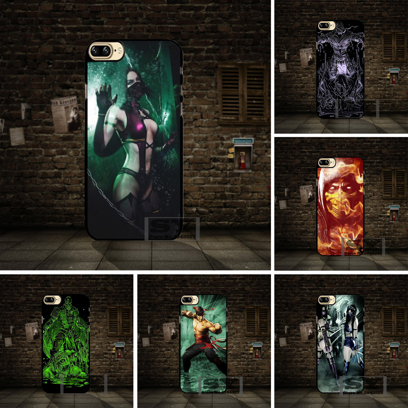 best cases Mortal Kombat 9 cell phone Case Cover For Samsung Galaxy S2 S3 S4 S5