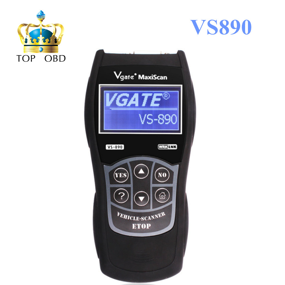 Hot Sale Vgate Scan tool Maxiscan VS890 VS 890 Auto Scanner Maxiscan VS890 Scanner