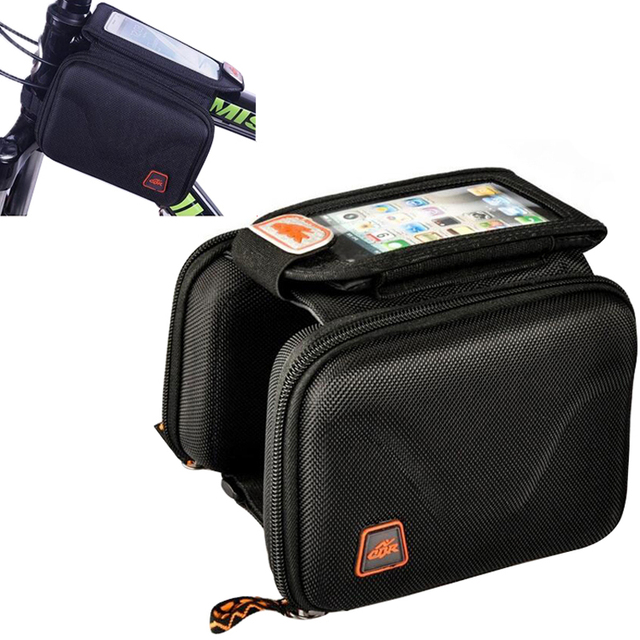 Bicycle Mountain Bike Cycling Frame Front Top Tube Bag Pouch Pannier Pack UK
