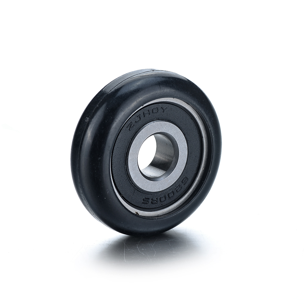 20Pcs 625ZZ Model 5*23*7mm Plastic Coated Pulley Tire Wheel Arc Ball Bearing