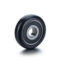 1 шт./2 шт./6 шт. 6200ZZ шарикоподшипник дугового типа из высокоуглеродистой стали, полиуретановый черный шкив, подшипник 10x38,5x12 мм, лучшее качество