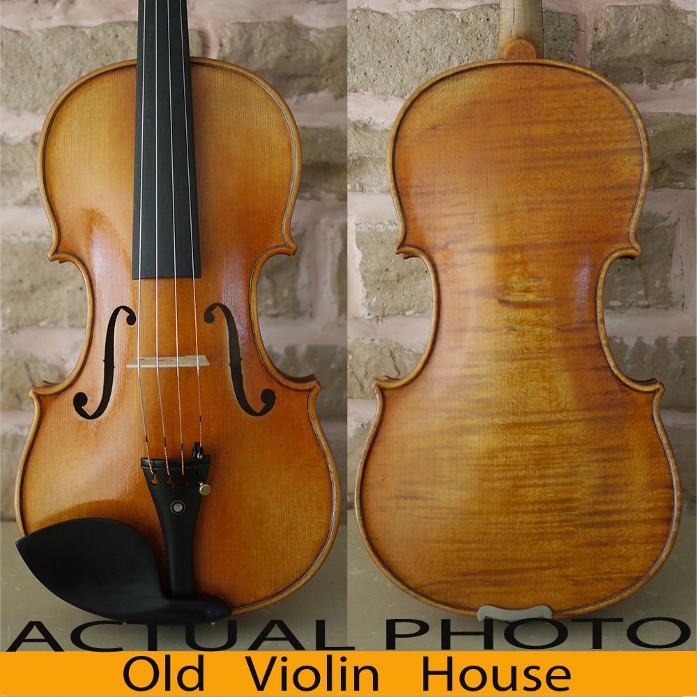Antique varnish 100 Handmade Powerful Tone Model of J B Collion Mezin French violin Free violin