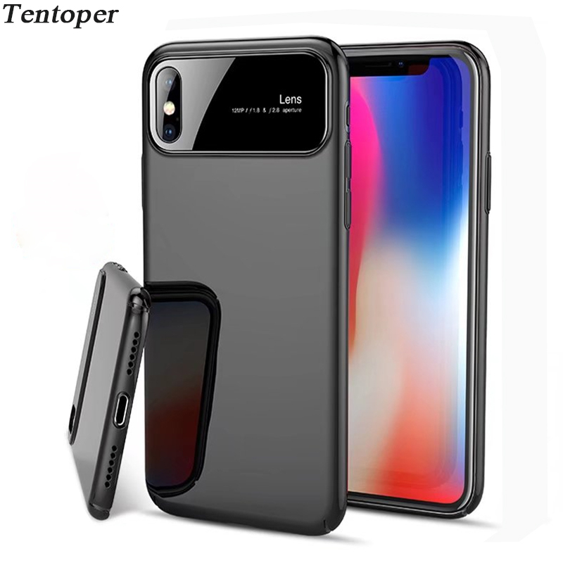 Luxury Mirror Case For iPhone X 8 7 Plus 6 6s Cover Matte Hard PC Phone Cases For Samsung S9 Plus S8 Note8 Shockproof Armor Capa