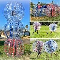 Squishy антистресс 1,0 мм ТПУ надувной шар Зорб 1,2/1,5 м шар мяч для футбола надувной бампербол пузырь футбольные игрушки для детей