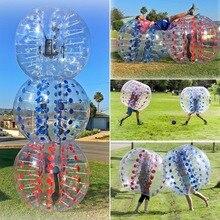 Squishy antistress 1.0mm TPU Inflatable Zorb Ball 1.2/1.5m Bubble Soccer Ball Air Bumper Ball Bubble Football toys for children