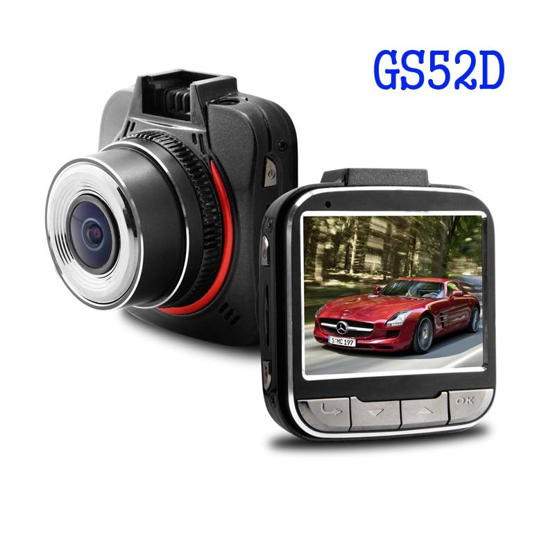 imágenes para GS52D Ambarella A7LA50 GPS Del Coche DVR Grabador de Vídeo Full HD 170 grados de Ancho LCD 2.0 inch Ángulo G-sensor Con Cámara Libera El Envío!