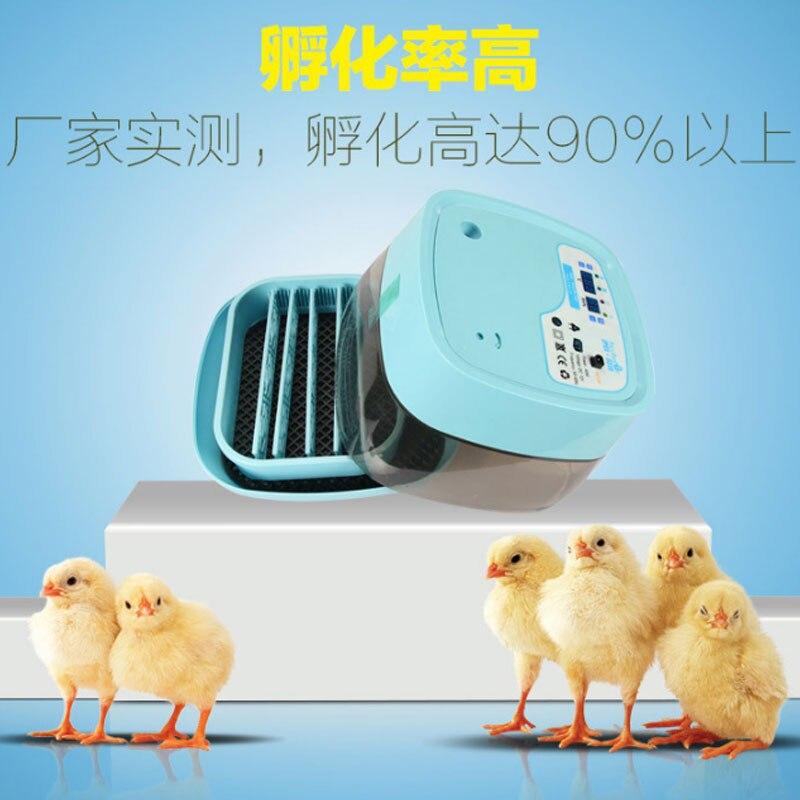 Птицы перепелиный голубь аппарат для искусственного высиживания яиц автоматический Флип двойной мощности инкубатор яиц 220 В куриный Брудер сельскохозяйственное оборудование