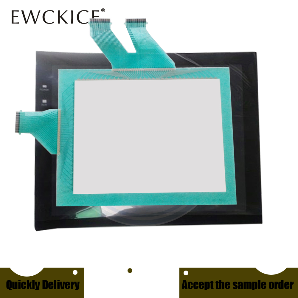 NEW NT631C-ST153B-EV3 NT631C-ST153-EV3 HMI PLC Touch Screen AND Front Label Touch Panel AND Frontlabel