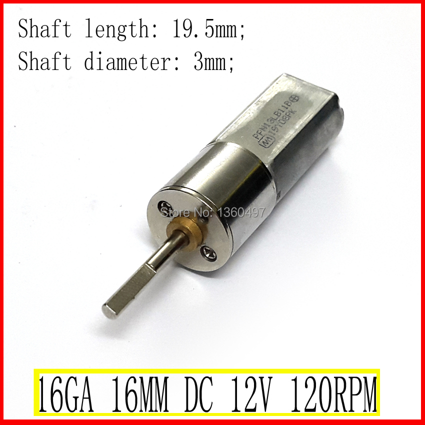 NEW 120RPM Long Shaft 19.5mm dc 12v motor 400mA 0.5A Powerful High Torque Gear Box Motor 12V 120RPMNEW 120RPM Long Shaft 19.5mm dc 12v motor 400mA 0.5A Powerful High Torque Gear Box Motor 12V 120RPM