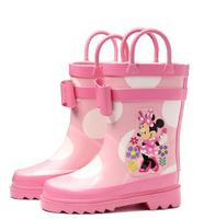 new arrival Children's shoe Rain Boots Girls shoes cartoon Boys Girls Baby shoes,overshoes Boots Boys Rubber shoes