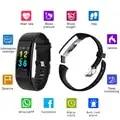 K07 Plus Kleur Screen Smart Polsband Sport Armband Hartslag Bloeddruk Zuurstof Fitness Tracker Mi Band 2 voor IOS Android