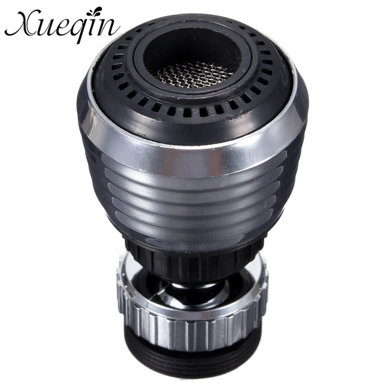 Xueqin 360 Adjustable Swivel Water Saving Kitchen Tap Aerator Diffuser Spray Steam Aerator Faucet Filter Connector