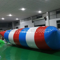Free Shipping 7x3m Fascinating Inflatable Blob Jump With 0.9mm Thickness PVC Tarpaulin, Jumping Pillow, Water Air Bag