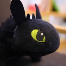 How To Train Dragon Toothless Night Fury Plush Stuffed Toothless Toys For Children printio toothless dragon wall stickers