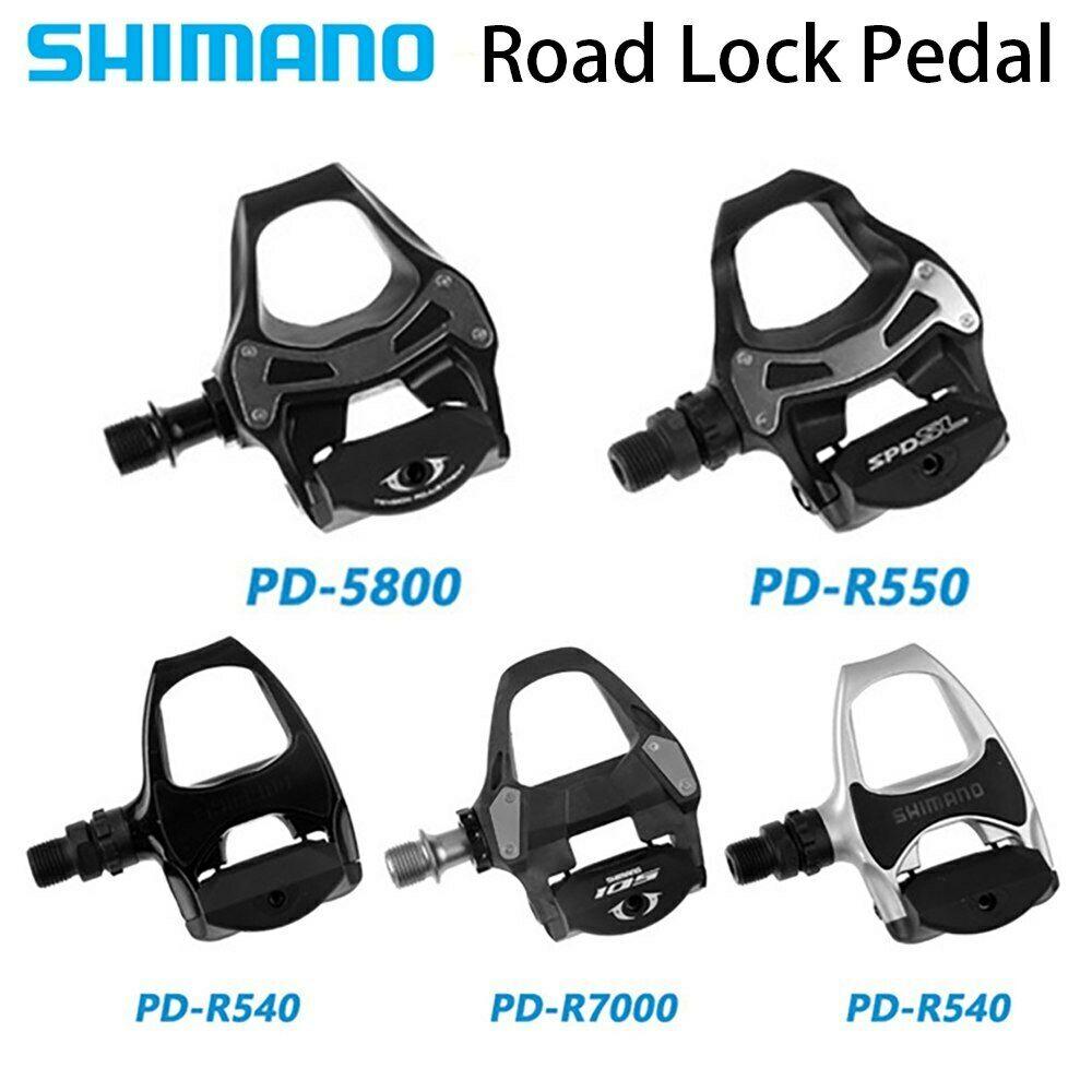 Float Cleats MTB Road Bike PD R540 R550 R5800 105 R7000 SPD SL Clipless Pedals
