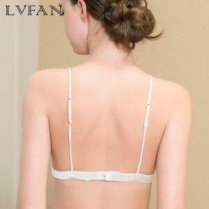 Image 3 - طبيعة الحرير ليوبارد مثير الصدرية أنثى سليم لا الحافات النمط الفرنسي سامسونج صغير الصدر الصدرية رومانسية أنيقة داخلية LVFAN TGB 004