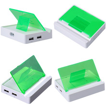 US type 15W 2 port USB charger Multi USB Phone Charger 15W 2 Port Wall Adapter for Apple i