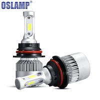 Oslamp LED Car Headlight 9004 Hi Lo Beam COB Auto Led Headlight Bulb 6500K Headlamp For