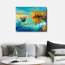 Laeacco Canvas Calligraphy Painting Abstract Prints and Posters Nordic Wall Artworkwork Living Room Bedroom Home Decor