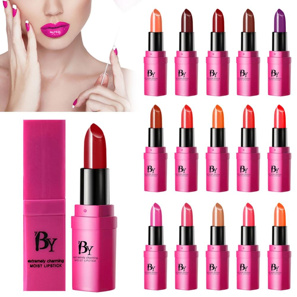 Promotions Waterproof Nude Matte Velvet Glossy Lip Gloss Lipstick Lip Balm Sexy Lip Tint Women Fashion Makeup Gift