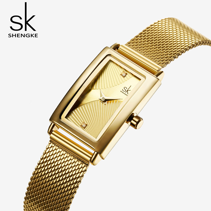 2019 Women's Watches Woman Luxury Brand Fashion Ladies Gold Watches Clock Quartz Lady Wrist Watches For Women Relogio Feminino
