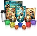 FF62 food portion control container for country heat 21 day fix hard corp