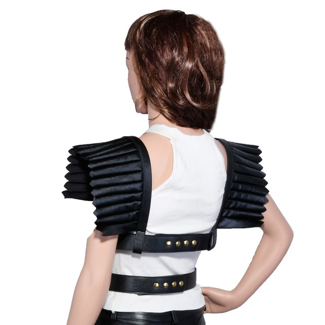 ANGEL WINGS original single Korean version of the trend of nightclubs exaggerated clavicle strap leather waist straps