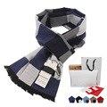 Новой Зимы Прибытия мужская Шарфы Горячие Продажи Thicked теплый мужские кашемировый шарф Англия плед шарф для мужчин