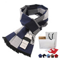 New Arrival Winter Men's Scarves Hot Sale Thicked warm Man's cashmere scarf England plaid scarf for men